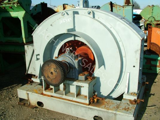 Westinghouse 800 Hp 450 Rpm Synchronous Electric Motor