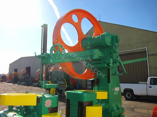 """Baker Motor Company >> Turner Model E-52, 52"""" Rollfeed Resaw 