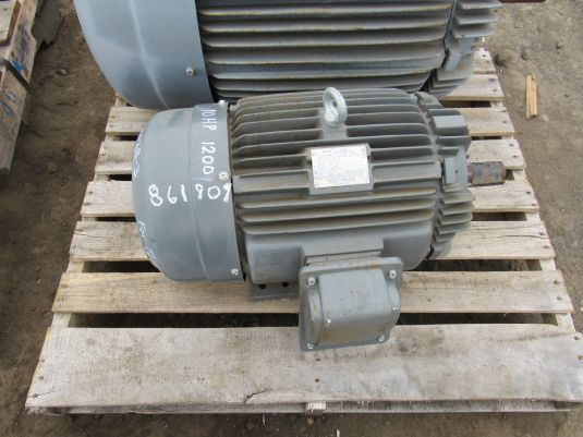 TECO/West MAX-SE AC Motor, 10HP, 1170 RPM