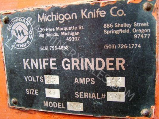 Michigan Knife Co Knife Grinder Simonds Ind Model Mkc