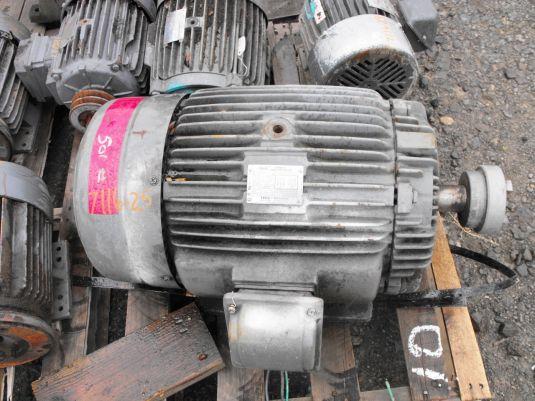 Teco Westinghouse Motor 30hp 1755 Rpm Precision