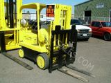Hyster Model S-60 80B 6,000 Lb. Capacity Propane Powered Fork Lift